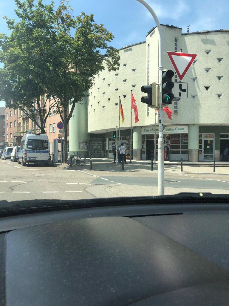 Bombendrohung Mannheim
